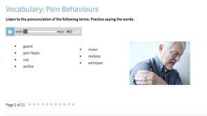 English for Care Vocabulary