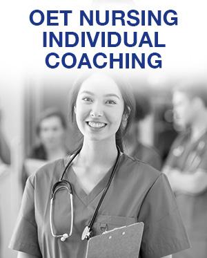 OET Nursing Individual Coaching