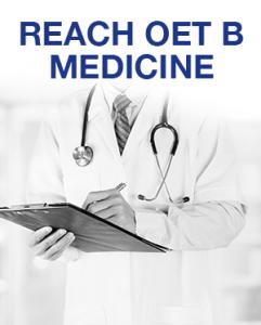Reach OET B Medicine