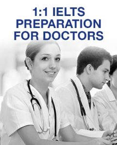 1-1 IELTS Preparation for Doctors
