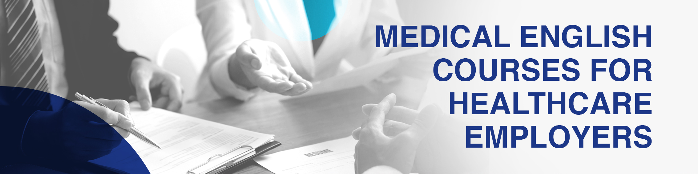 Medical English for healthcare employers