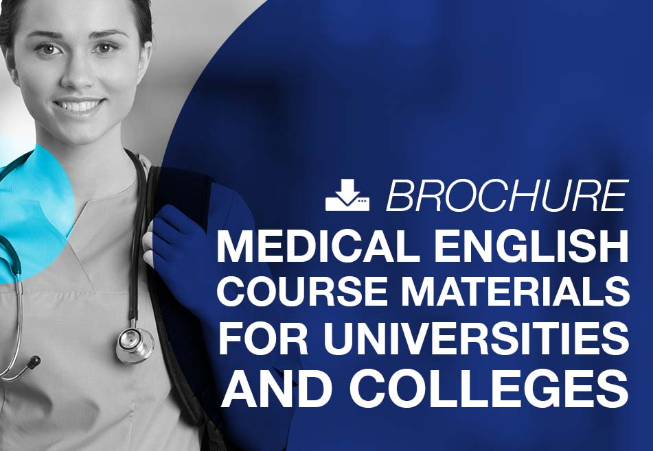 Medical English courses materials for universities and colleges