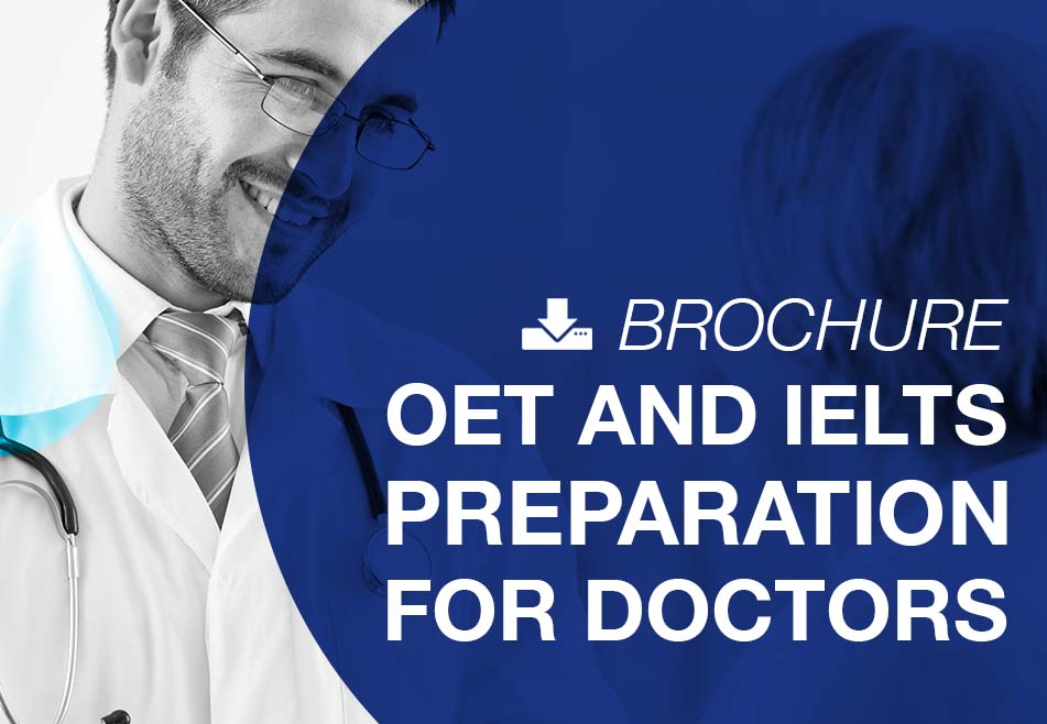 OET and IELTS preparation for doctors