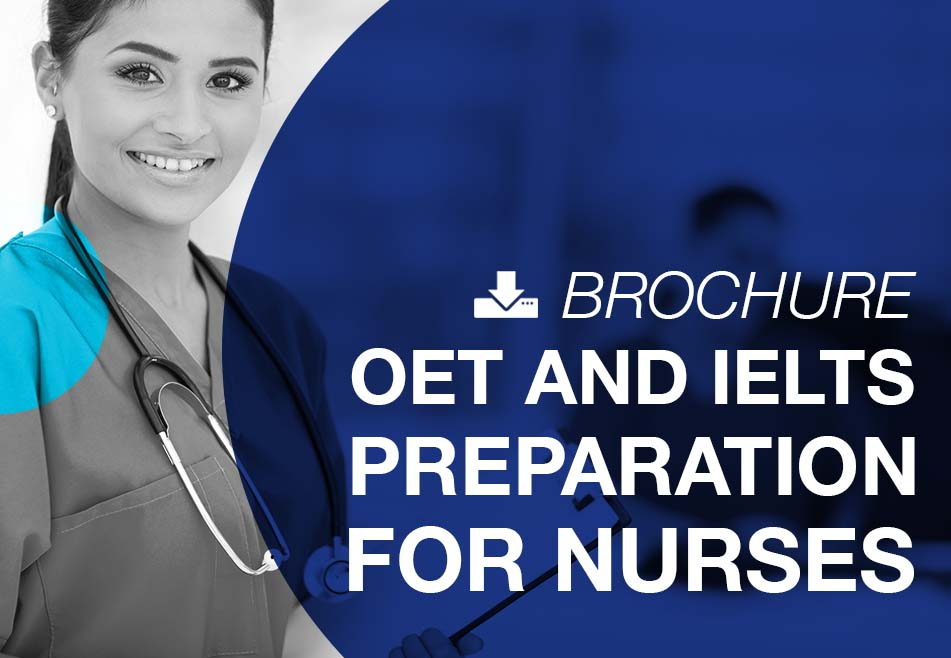 OET and IELTS preparation for nurses