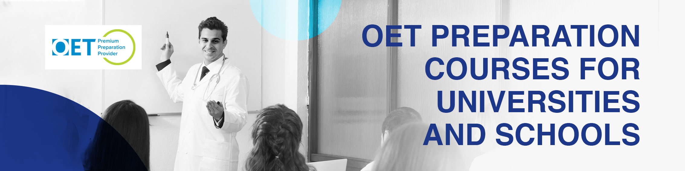 OET for Universities and Schools